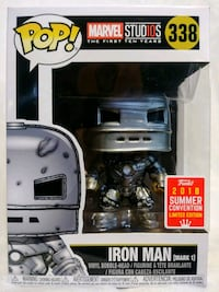 Funko Pop Iron Man (Mark 1) 338 SDCC 2018 Modesto, 95357