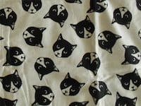Cat Fabric 2 yds Davis