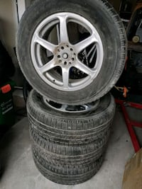 "17"" Rims with Pirelli tires  Toronto"