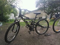 black full-suspension bike Edmonton, T5B 0S1