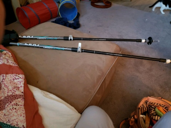 Brand new ski poles asking half price 2
