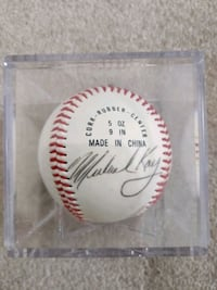 Michael Kay Signed Baseball Tucson, 85745