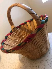brown and red wicker basket Los Angeles, 90034
