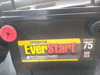 ALMOST NEW CAR BATTERY! GREAT CONDITION,! STARTS I Hesperia, 92345