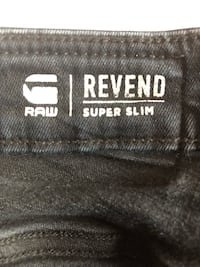 G-RAW men's black jeans Vaughan