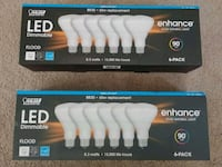 2 boxes Brand new Br30 Vivid led bulbs 13yrs  College Park, 20740