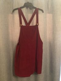 Red Overall dress San Diego, 92108