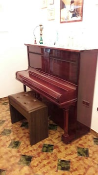 pianoforte verticale marrone con banco Avella, 83021