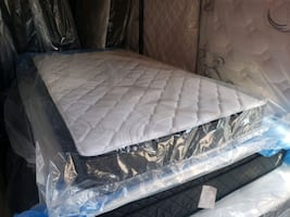 Brand New Single/ twin mattress 145$ ea delivery 30 double queen 280