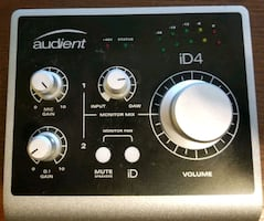 Audient iD4 USB Audio Interface/Preamp