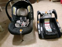 baby's black and gray car seat carrier 2274 mi