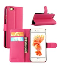 """For iPhone 6S Plus 5.5"""" Phone Wallet Case"""