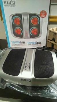 Homedics Foot Massager Heated  Mississauga, L5K 1K1