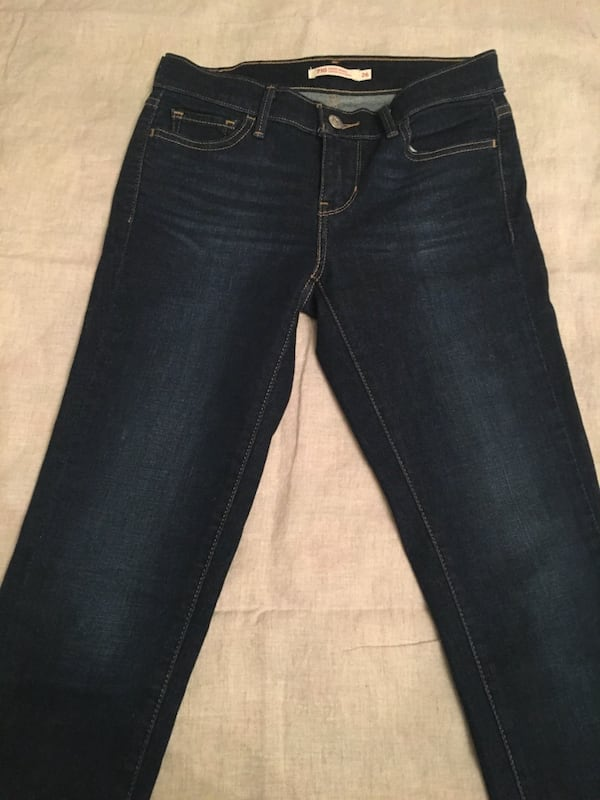 Levis 501 Skinny Jeans 4