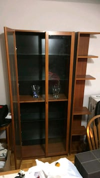 Dark brown Shelf with Detachable Corner unit Toronto, M4H 1L5