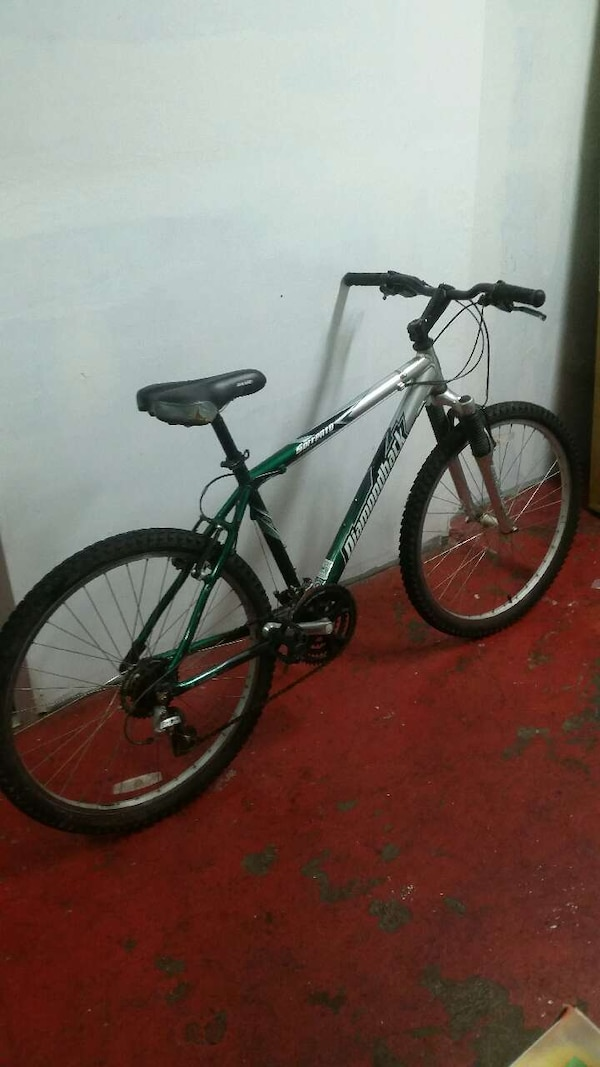 a4b416d579c Used gray and green diamondback hardtail mountain bike for sale in  Inglewood - letgo