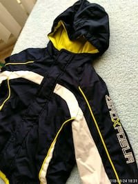 black and yellow zip-up hoodie Silver Spring, 20910
