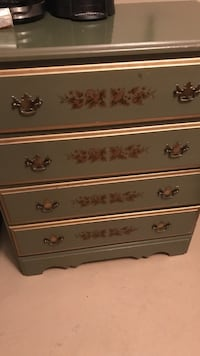Very pretty all wood chess of drawers