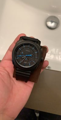 Fossil All black Stainless Steel Watch For Sale Surrey, V3X 1B8