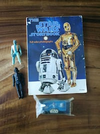 The Star Wars character action figure and storybook Edmonton, T5R 0E5