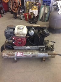 black and gray Grip Rite air compressor Cambridge, N1R 6C6