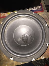 Black eclipse subwoofer 12 inch Milton, 19968