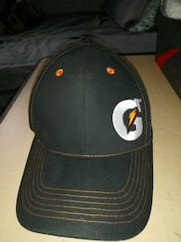 black and white fitted cap Weslaco, 78596