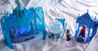 Elsa light up castle,Small Anna Castle, sleigh-$35 Toronto, M9B 6C4