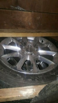 gray 5-spoke vehicle wheel and tire Hyattsville, 20783