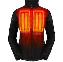 Heated Jacket with Battery Pack and Charger