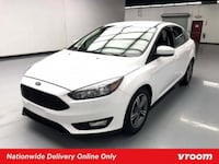 2018 Ford Focus White sedan