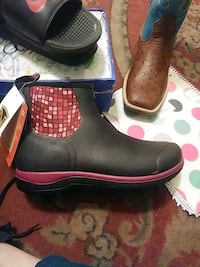 shoes noble work boots size 7 2338 mi