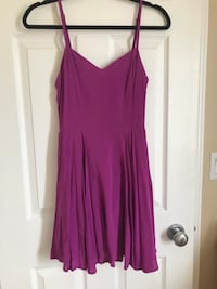 Aritzia talula purple dress- sz 4  Edmonton, T6V 1S7