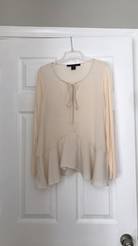 EUC Cream Flowing Blouse Rockville, 20854