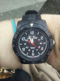 black timex expedition watch with black strap Victoria, V8W 2B4