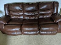 Dual reclining  sofa. Brought 3 months back for $700 MCLEAN