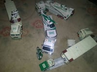 A whole bunch of Hess trucks having a house party  Sunbury, 17801