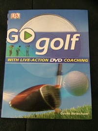 Go Golf book with live-action DVD coaching Calgary, T3J 4N6