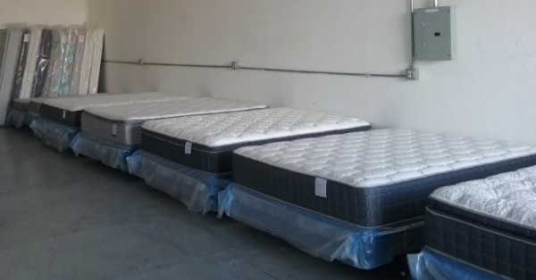 King Pillowtop Mattress Set