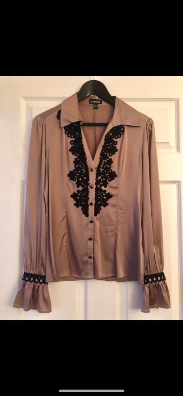 f759f25b8efee Used LIKE NEW BEBE Silk Blouse for sale in Toronto - letgo
