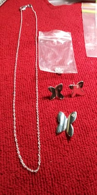 925 Silver Butterfly Set. New Port Richey