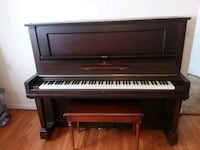 brown wooden upright Stienway piano. PRICE NEGOTIA East Berne, 12059