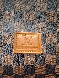 Brown and black louis vuitton leather wallet London, N6G