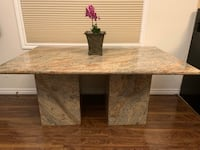 Marble dining room table Toronto, M4S 2M6