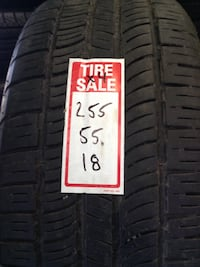 Great set of used Pirelli Scorpion Zero All Season tires 255/55/18 Toronto, M1P 2B3