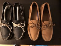 Sperry Top Siders Size 10.5 Navy and Brown Toronto, M4S