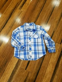 Old navy plaid shirt 4T