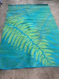 Blue and green area rug McAllen, 78501