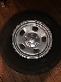 17x7 wheels and tires  Mount Airy, 21771