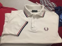 Polo bianca Fred Perry